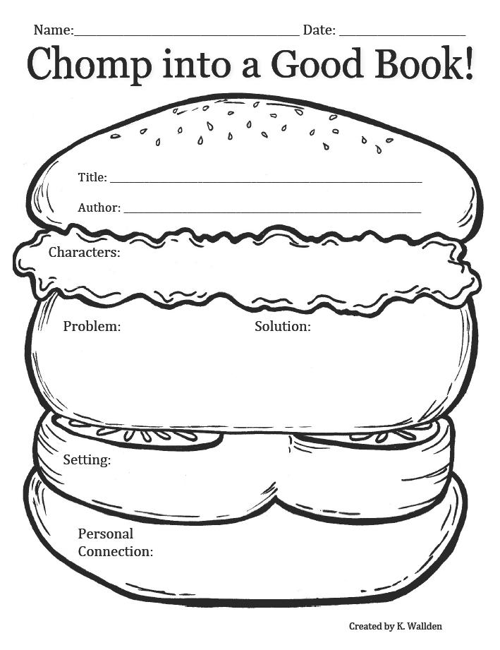 简笔画汉堡步骤